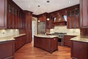 Cherry Kitchen Cabinets Photo Gallery » Home Design 2017
