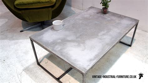 Cement Table by Concrete Coffee Table