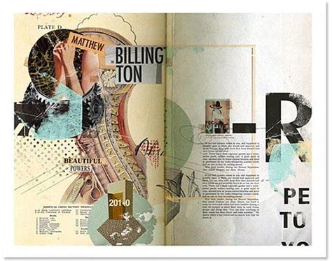 magazine layout photo collage vintage graphic design is how this was tagged when i