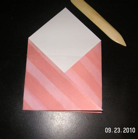 Origami Pocket - folding the origami 2 pocket envelope cheap
