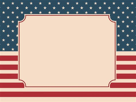 American Nation Flag Backgrounds Politics Templates Free Ppt Backgrounds And Powerpoint Slides American Flag Powerpoint Template