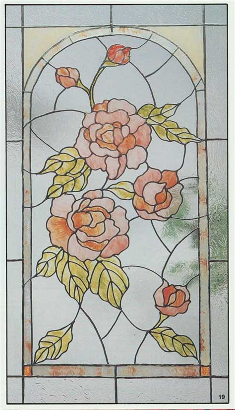 Flower Design In Glass | stained glass l patterns knowledgebase