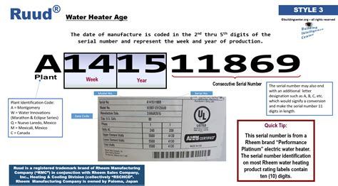 ruud electric water heater age exelent electrical legend for water heaters composition