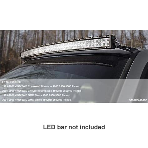 Mounting Bracket 50in Curved Led Light Bar 4 99 06 Chevy Tahoe Led Light Bar