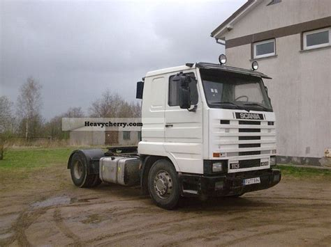 scania 113h 400 1994 standard tractor trailer unit photo