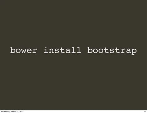 installing bootstrap gem making peace with twitter bootstrap