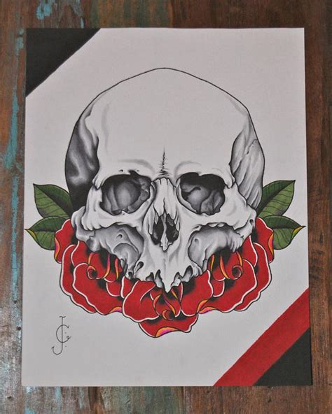 tattoo flash traditional skull neo traditional skull tattoodenenasvalencia