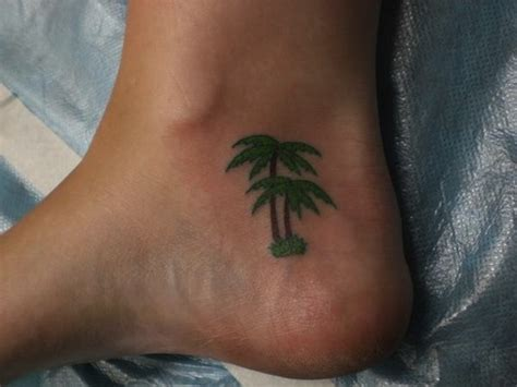 palm tree ankle tattoo 61 amazing palm tree tattoos