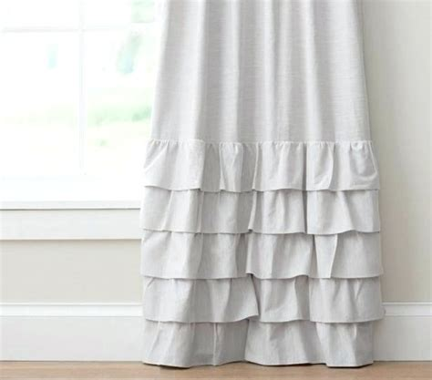 white ruffled curtains for nursery pink ruffle curtains curtain pink vinyl shower curtain