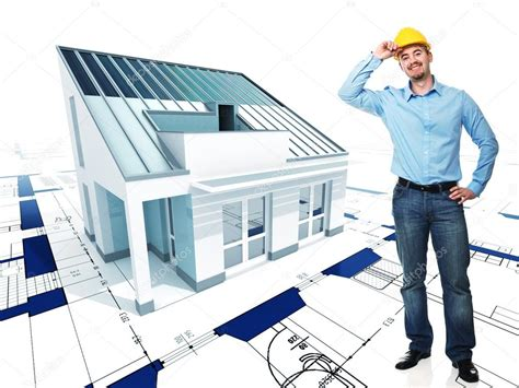 Architect With His Project Stock Photo 169 Jukai5 5305858 Architectural Designer