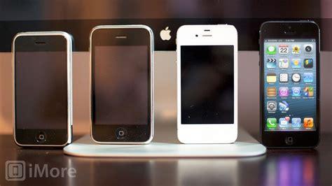 iphone 5 vs iphone 4s vs iphone 3gs vs iphone design evolution gallery imore