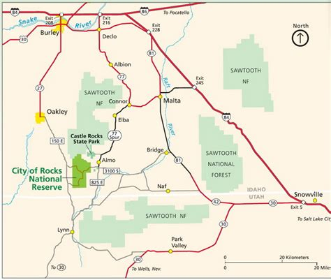 driving directions to rock boise directions transportation city of rocks national