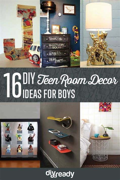 diy boy room decor teen room decor ideas diy projects craft ideas how to s