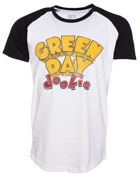 T Shirts Green Day Gdy13 s green day dookie baseball t shirt
