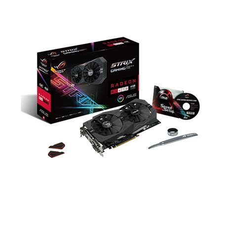 Vga Radeon Asus 470 Strix 4gb 0c Gaming asus republic of gamers announces strix rx 470 enostech
