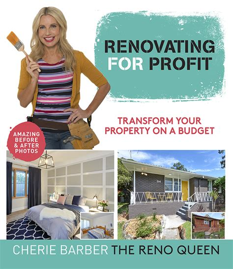 renovating for profit with cherie barber queensland