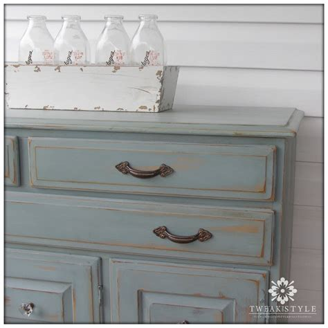 chalk paint not distressed tweak style two toned glam distressing with duck