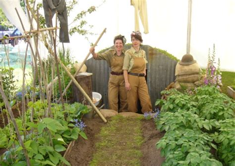 garden city family health team wartime garden is winner at aylsham nursery charity day