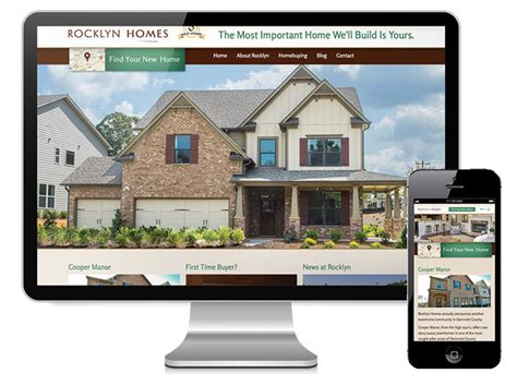 rocklyn homes atlanta web print multimedia and