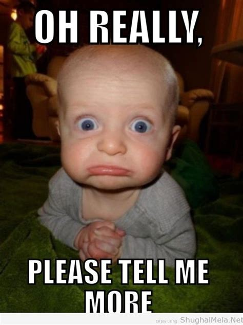 Meme Please - 50 very funny baby pictures that will make you laugh