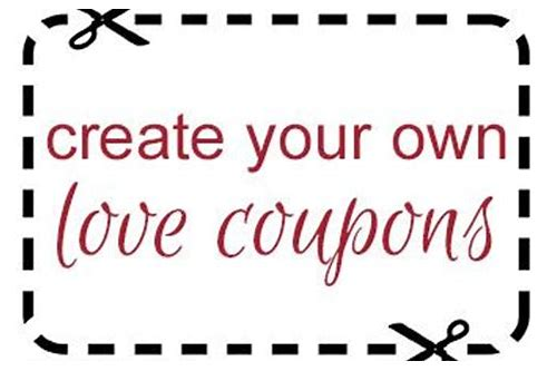 free love coupon maker