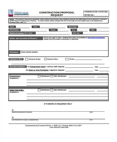 Bid Form Template 28 Images Template For Bid Exle Of Bid Construction Template Real Estate Contractor Request For Template