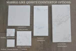 Kitchen Cabinets Manufacturers List Kitchen Countertop Options Quartz That Look Like Marble
