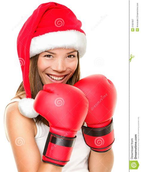 fitness christmas pics fitness boxing stock image image 21601857