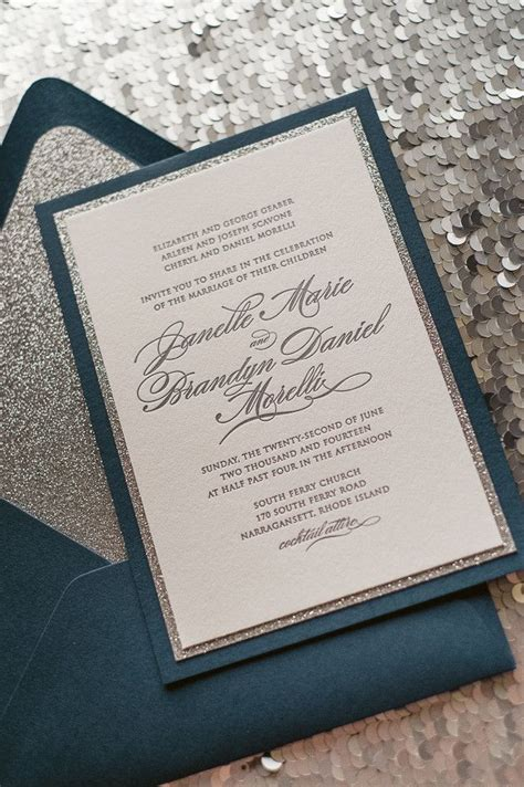 125 best wedding invitations from dressy designs images on navy and cream wedding invitations kac40 info
