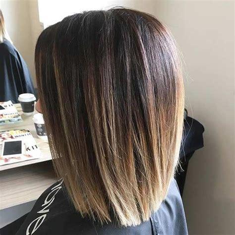 shoulder length blunt cut 17 best ideas about shoulder length hairstyles on