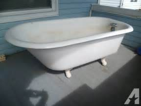 antique 1923 cast iron clawfoot tub for sale in