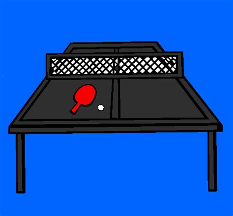 jeux de tennis de table gratuit dessin de tennis de table colorie par membre non inscrit