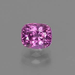 Pink Quartz 19 22ct pink sapphire 1 2ct cushion from tanzania and