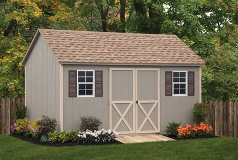 Backyard Wood Sheds by Wood Workshop Shed Backyard Beyond
