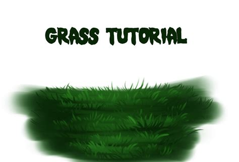 paint tool sai grass tutorial easy grass tutorial by ryky on deviantart