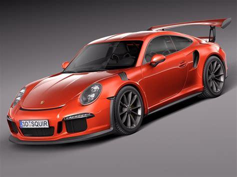 Model Porsche 911 by 3d 2016 Porsche 911 Model