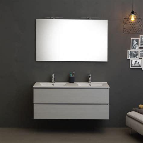 mobile bagno grigio mobile per bagno con lavabo doppia vasca 120 cm grigio
