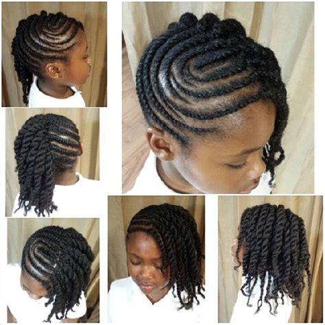 hair styles of an afro plate tresses torsades relev 233 es and torsion plate on pinterest