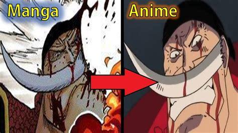 one anime vs one 5 anime differences doovi