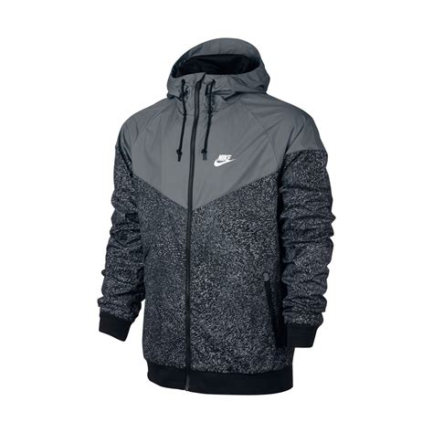Nike Windrunner Black Grey nike windrunner jacket cool grey black black highlights