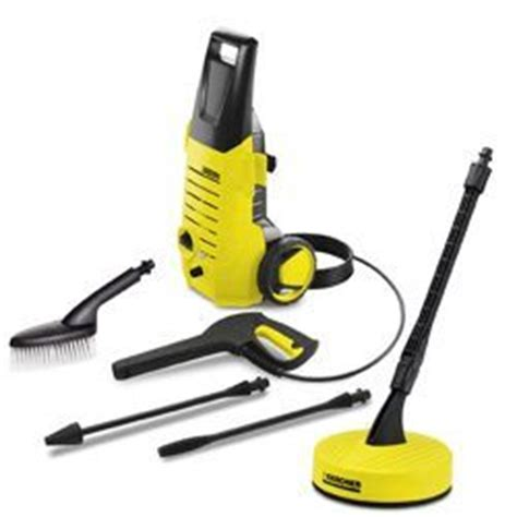 pressure washer patio brush karcher k2 38 a grade pressure washer with t50 patio