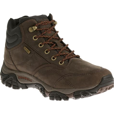 Merrell Moab Rover Boots Waterproof Mid Espresso
