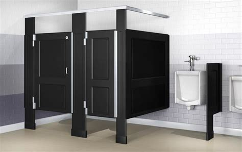 Bathroom Partitions Commercial with Resistall Plastic Toilet Partitions