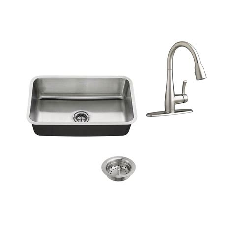 standard kitchen sinks standard all in one undermount stainless steel 30