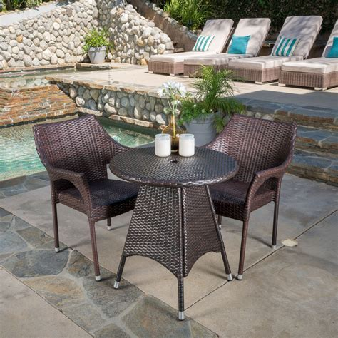 best selling home decor 3 piece bistro set the mine best selling home hawkley 3 piece bistro set outdoor