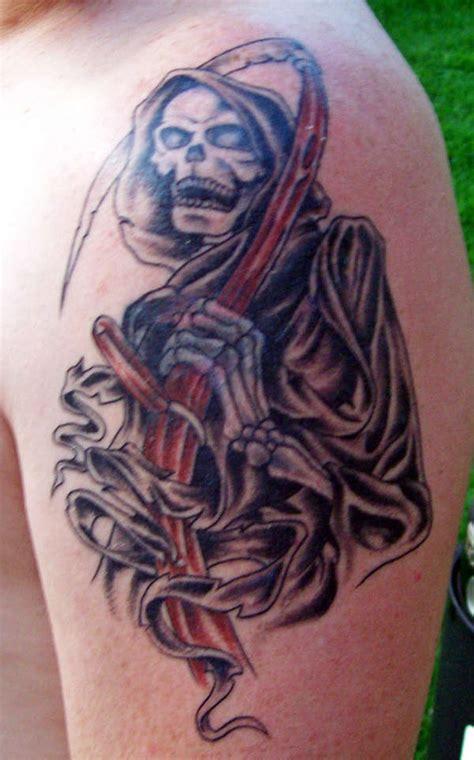 free grim reaper tattoo designs grim reaper tattoos 43
