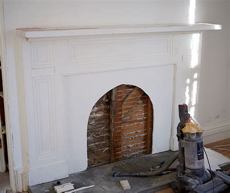 building a fireplace building the faux fireplace manhattan nest