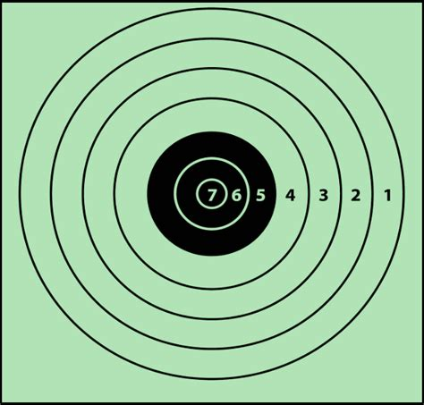 free printable targets 8 5 x 11 free printable shooting targets for pistol zombie airgun