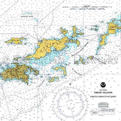 Kitchen Island Cutting Board by Islands British Virgin Islands W Color Nautical Chart