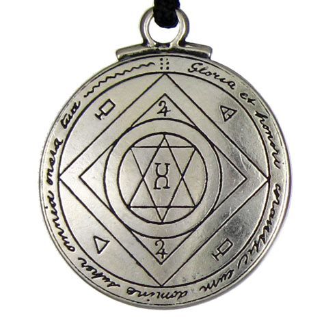 talisman for luck pendant seal of solomon amulet
